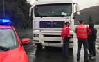 Un camionero sextuplica la tasa de alcohol y se da a la fuga en Legasa