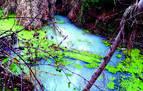 Gurelur denuncia el vertido de aguas residuales al río Alhama