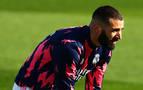 Benzemá, baja para la Liga y duda para la Champions