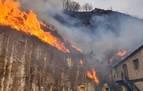 Apagado el incendio de Bera y Lesaka, que ha quemado 1.800 ha, la mitad en Navarra