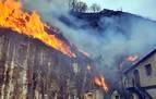 La Fiscalía de Guipúzcoa abre diligencias por el incendio de Bera