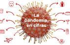La pandemia de coronavirus en Navarra, en cifras