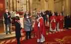 Ganaderos y rejoneadores, en la tercera misa de la Escalera
