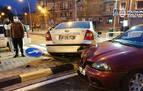 Siete heridos leves en trece accidentes de tráfico en el fin de semana