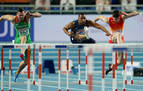El navarro Asier Martínez, a la final de 60 metros vallas