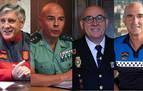 Mandos policiales de Navarra valoran las denuncias durante la pandemia