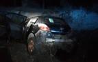 Dos heridos tras sufrir una salida de vía en Valtierra