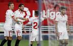 El Sevilla consolida la cuarta plaza ante el Elche