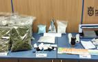 Desmantelado un punto de venta de droga en Pamplona con tres detenidos