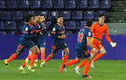 Un gol de Bono, portero del Sevilla, le quita dos puntos al Valladolid en el último minuto
