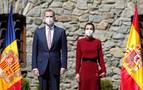 Los Reyes, recibidos en Andorra por las máximas autoridades