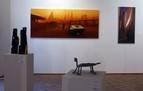 Más de 80 artistas en la exposición 'Artea Oinez 2021', hasta el 28 de abril
