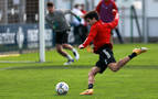 Manu Sánchez quiere quedarse en Osasuna