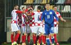 Budimir juega de inicio en la victoria de Croacia