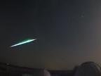 Una roca de un asteroide genera una enorme bola de fuego sobre Castilla La Mancha