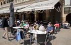 El Gobierno de Navarra baraja abrir el interior de la hostelería el día 14 pero condicionado