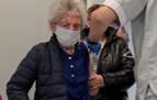 La vacuna llega, por fin, a la abuela de Navarra