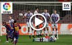 Resumen del FC Barcelona 1-0 Valladolid en vídeo