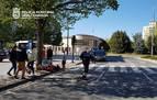 Herido un joven de 14 años al sufrir un accidente cuando circulaba en bici en Pamplona
