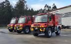 Nuevos vehículos autobombas para los parques de Tafalla, Estella y Oronoz
