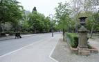 El Ayuntamiento prevé nivelar la calzada que separa el Bosquecillo y la Taconera