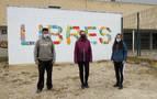 Seis murales con temas locales se integran en el paisaje urbano de Andosilla