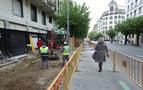 Obras en San Ignacio para evitar inundaciones y caídas de peatones