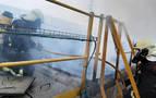 Extinguido un incendio en la fábrica Mapsa de Orkoien