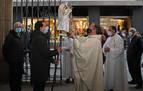 El Ángel de Aralar recaló en Pamplona tras el paréntesis del año pasado