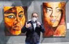 El Parlamento inaugura la exposición 'Los Nadies' del pintor Antonio Soto