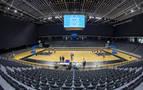 Basket Navarra se adapta a la cancha del pabellón Navarra Arena