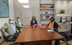 Renovado el apoyo al trabajo de la Delegación Saharaui en Navarra