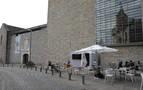 Cuatro bares se instalan en las terrazas sin carpa del Museo y el Archivo