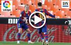 Resumen del Valencia 2-3 Barcelona en vídeo