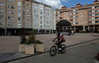 La plaza Ezkabazabal de Burlada se habilita como espacio para terrazas
