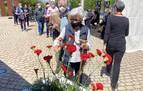 Homenaje a familiares de represaliados en el XIII aniversario del Parque de la Memoria de Sartaguda