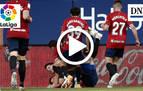 Resumen del Osasuna 3-2 Cádiz: gol de Budimir (2-1)