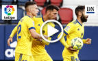 Resumen del Osasuna 3-2 Cádiz: gol de Perea (3-2)