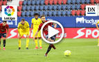 Resumen del Osasuna 3-2 Cádiz: gol de Roberto Torres (3-1)