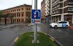 La señal que permite 'regresar' de la zona de tráfico restringido