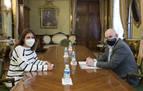 Gobierno y Buñuel estudian el desarrollo del parque eólico Pestriz
