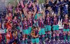 El Barcelona femenino consigue su primera Liga de Campeones