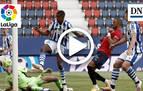 Resumen del Osasuna 0-1 Real Sociedad: gol de Isak