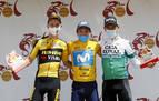 'Supermán' López gana la Vuelta a Andalucía con el navarro Amézqueta en el tercer peldaño del podio