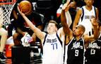 Los 'Big Three' continúan imparables en la NBA