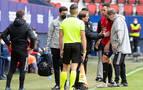 Unai García no tiene afectado el ligamento cruzado de la rodilla