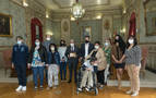 El Ayuntamiento de Tudela honra a Anfas en su 60 aniversario