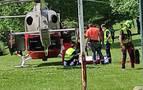 Rescatado un hombre tras caerse por un terraplén de ocho metros de desnivel