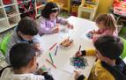 Las pinturas unieron a niños y mayores
