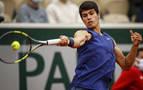 Alcaraz, tras caer en Roland Garros